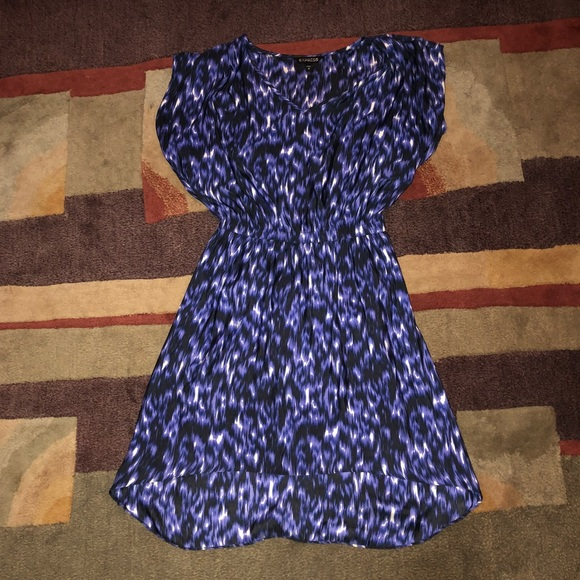 Express Dresses & Skirts - Express Deep Blue Summer Dress